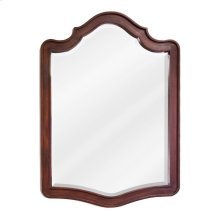 "26"" x 34"" Chocolate Brown mirror with beveled glass"