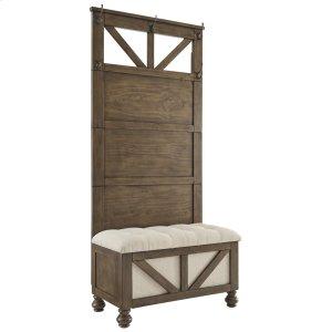 Ashley FurnitureSIGNATURE DESIGN BY ASHLEYBrickwell Hall Tree With Storage Bench