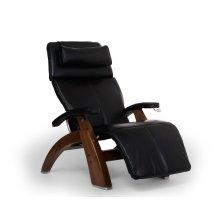 Perfect Chair PC-420 Classic Manual Plus - Black Premium Leather - Walnut