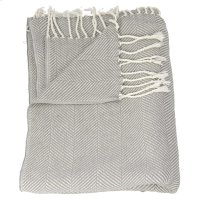 "Throw Sz008 Grey 50"" X 70"" Throw Blankets Product Image"