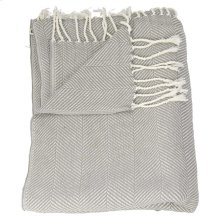 "Throw Sz008 Grey 50"" X 70"" Throw Blanket"
