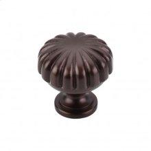 Melon Knob 1 1/4 Inch - Oil Rubbed Bronze