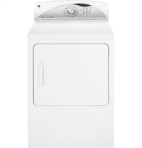 GE® 7.0 cu. ft. capacity electric dryer with steam and HE Sensor Dry