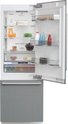 30 Inch Fully Integrated Built-In Bottom-Freezer Refrigerator Product Image