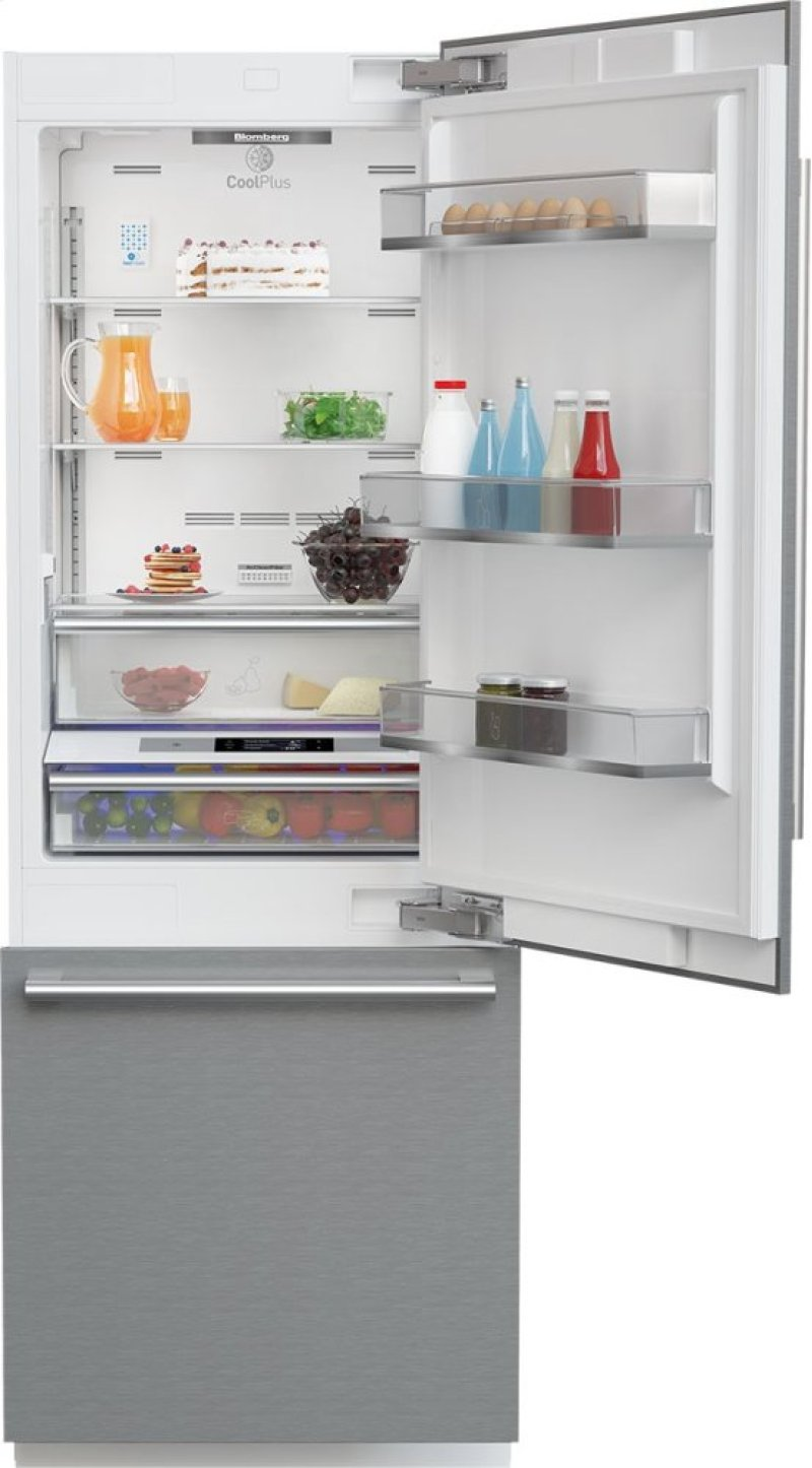 Hidden Additional 30 Built In Fridge Stainless Steel With Ice