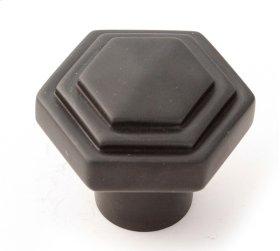 Geometric Knob A1535 - Bronze