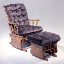 Two Post Solid Oak Glider