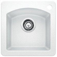 Blanco Diamond Bar Sink - White