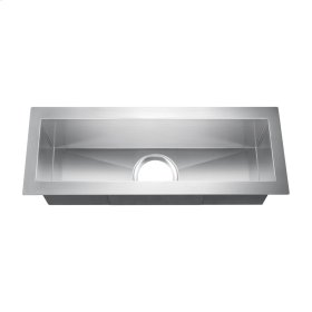"Whitesboro Stainless Trought Sink - 23"" - Stainless Steel"