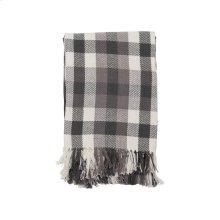 Hand Woven James Throw Gray