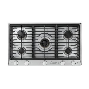 "Dacor36"" Professional Gas Cooktop, Natural Gas/High Altitude"