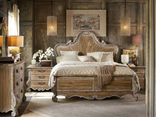 Chatelet California King Wood Panel Bed
