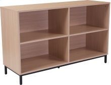 Dudley Oak Wood Grain Finish Bookshelf