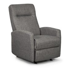 ARNOLD Space Saver Recliner w/Inside Handle