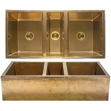 Farmhouse Sink - KS4422 Silicon Bronze Rust