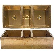 Farmhouse Sink - KS4422 White Bronze Medium