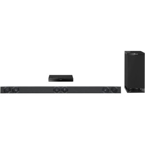 Panasonic300 Watt Sound Bar Home Theater System with Subwoofer (Black)