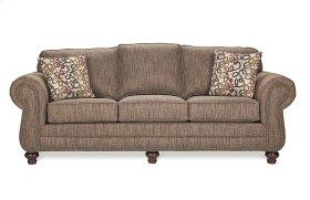 700 Sofa with brass tacks