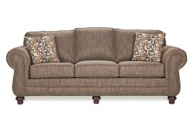 700 Sofa with brass tacks