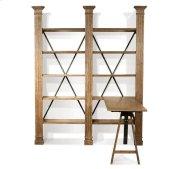 Northcote Adjustable Desk Heathered Oak finish Product Image