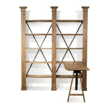 Northcote Adjustable Desk Heathered Oak finish