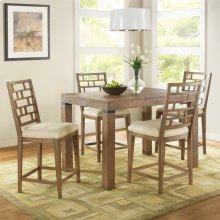 Mirabelle - Counter Height Dining Table - Ecru Finish