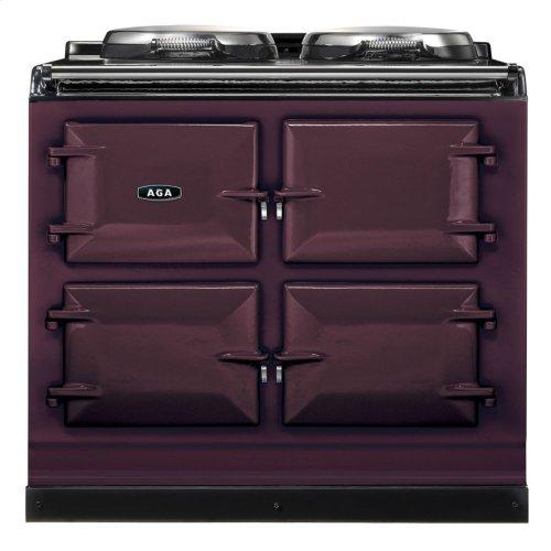 Black AGA Dual Control 3-Oven Natural Gas
