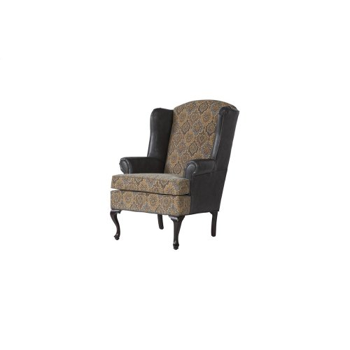 2200 Silas Ebony Wing Back Chair