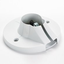 Pin Connection Flat Ceiling Plate (EMEA only)