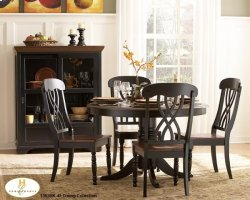 Round Dinette Table, solid wood top