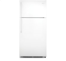 FRIGIDAIRE 18'CF TOP MOUNT REFRIGERATOR ONLY $349.90 SCRATCH & DENT AREA ONLY WHITE ONLY