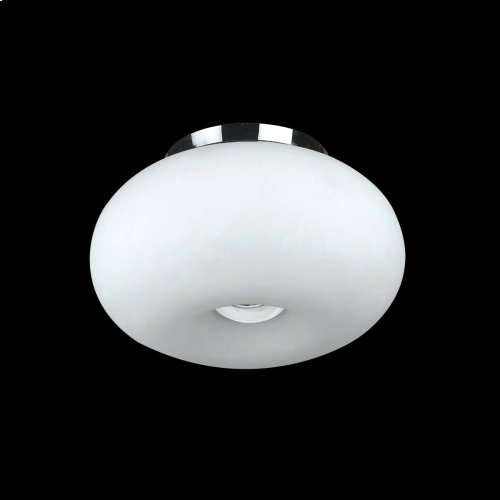 2-LIGHT SMALL CONVERTIBLE PENDANT - Chrome