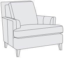 Addison Chair in Mocha (751)