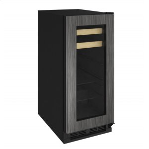 "U-Line1000 Series 15"" Beverage Center With Integrated Frame Finish and Field Reversible Door Swing (115 Volts / 60 Hz)"