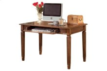 Home Office Small Leg Desk, Medium Brown