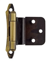 Self-closing, Face Mount 3/8in(10mm) Inset Hinge