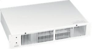 Kickspace Heater, White, 1500W 240VAC, 750/1500 W 120 VAC, Without Built-in Thermostat