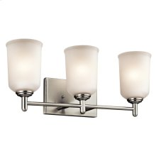 Shailene Collection Shailene 3 Light Bath Light NI