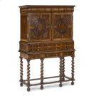 William & Mary Walnut & Oyster TV Cabinet Product Image