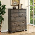 Belmeade - Five Drawer Chest - Old World Oak Finish Product Image