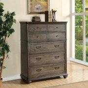 Belmeade - Five Drawer Chest - Old World Oak Finish Product Image
