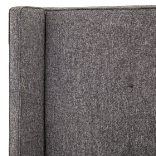 "King Size 48"" Headboard Height Madison Upholstered Bed"