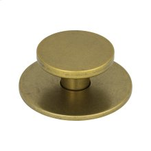 Dot Knob 2 Inch - Vintage Brass