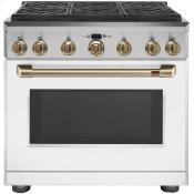"36"" All-Gas Professional Range with 6 Burners (Natural Gas)"