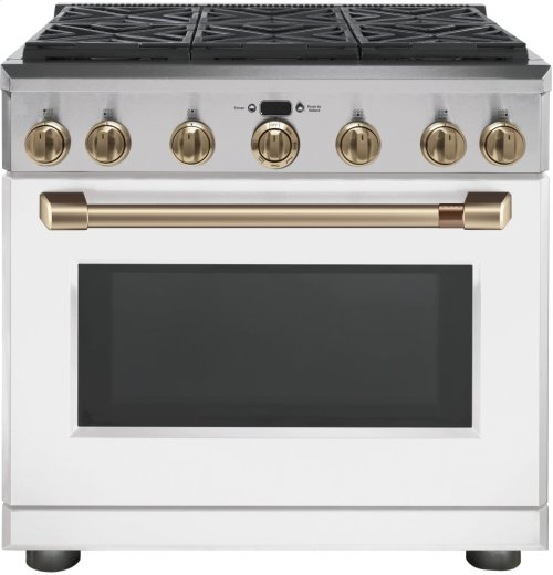 "Café 36"" All Gas Professional Range with 6 Burners (Natural Gas)"