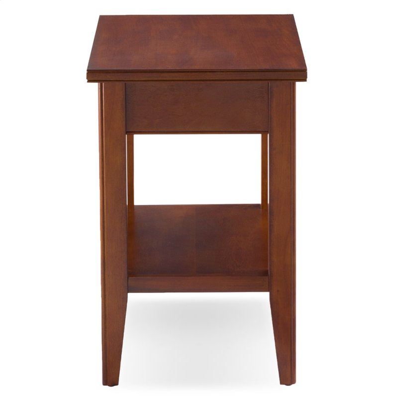 Grayson Drawer Chairside Table 10506 Sn