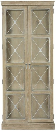 Rustic Patina Curio in Sand (387)