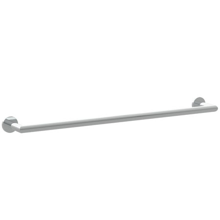 "Polished-Nickel 24"" Towel Bar"