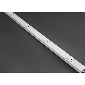 AL20GB306TR Aluminum Plugmold® Multioutlet Strip