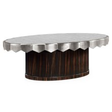 glomise Oval Cocktail Table